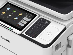 iR Advance DX 6700 mit externer Tastatur