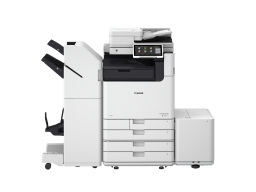 DX C5800i, Broschüren Finisher, Paperdeck
